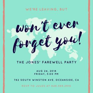 Party Invitations - Taking It to the Floor