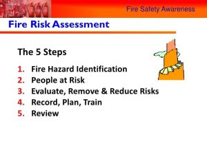 The Importance of Attending Fire Risk Assessment Training
