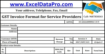 What Information Should Be Contained in a Service Invoice Template