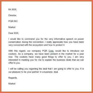 Excellent Tips to Writing an Introduction Letter