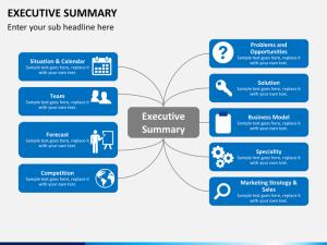 Winning Business Plan Executive Summary Presentation Tips